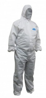 COVERALLS DISPOSABLE KOOLGUARD WHITE 2XL