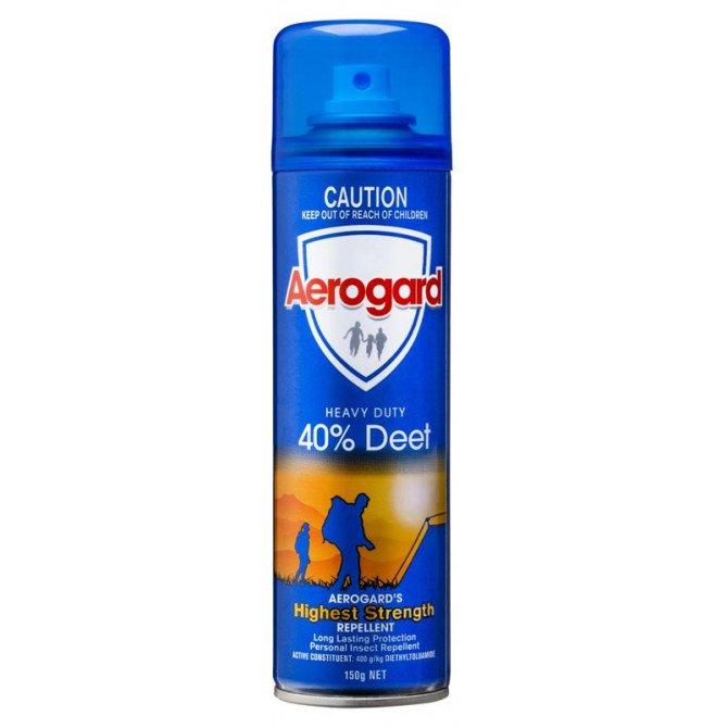 AEROGARD 150GM 40% DEET