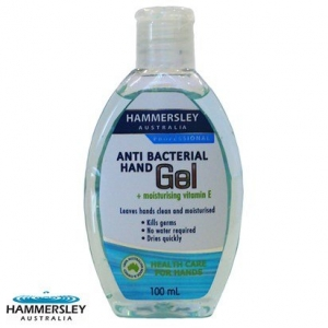 HAND SANITISER ANTIBACTERIAL GEL 120ML