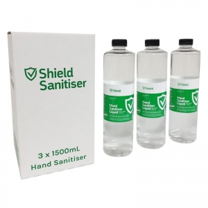 HAND SANITISER 1.5L FOR STATION 3/CARTON