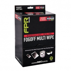 INTRINSICALLY SAFE FOG-OFF MULTI WIPE 300 WIPES PER BOX