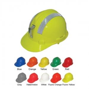 HARD HAT MINERS W/REFLECTIVE HC43M LAMP BRACKET