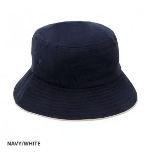 BUCKET HAT HBC SANDWICH DESIGN NAVY/WHITE S/M