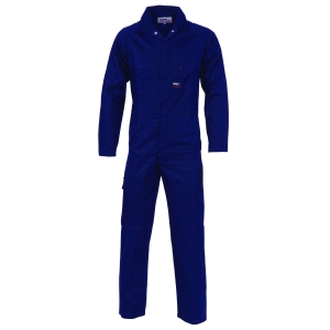 COVERALL COTTON DRILL NAVY 102R