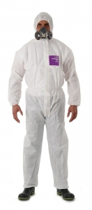 COVERALL DISP MICROGARD 1500 WHITE SIZE 2XL