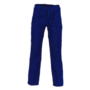 TROUSERS COTT DRILL NAVY
