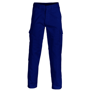 TROUSERS DRILL CARGO NAVY