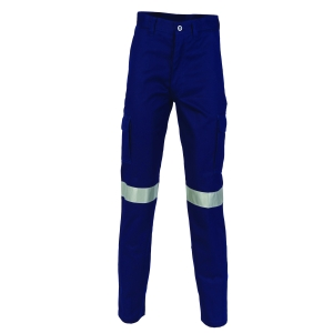 TROUSERS DRILL CARGO REF NAVY