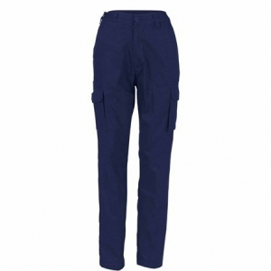 TROUSERS LADIES COTTON DRILL CARGO