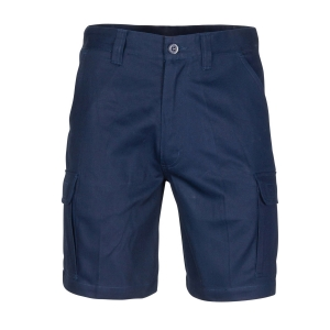 SHORTS MIDDLE WEIGHT COTTON NAVY