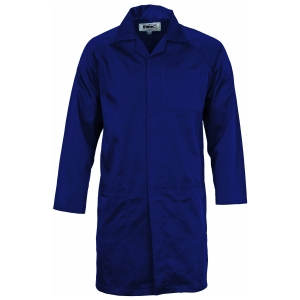 DUSTCOAT POLY/COTTON NAVY 102R
