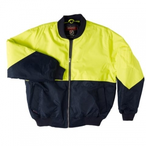 JACKET FLYING YEL/NAV SIZE 5XL