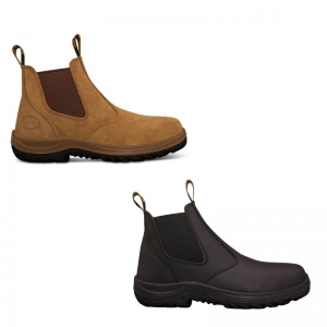 OLIVER SUEDE ELASTIC SIDED BOOT