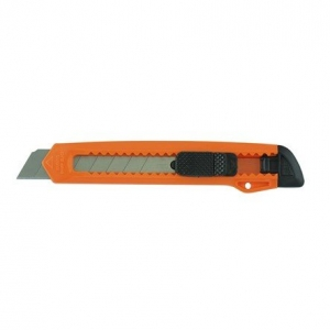 KNIFE PLASTIC CUTTER 18MM ORANGE