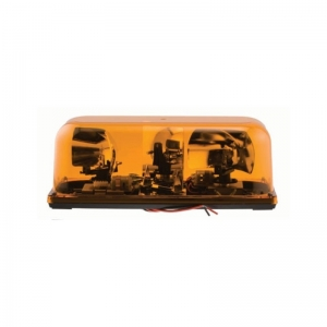 BEACON TWIN 12V HARD WIRED AMBER