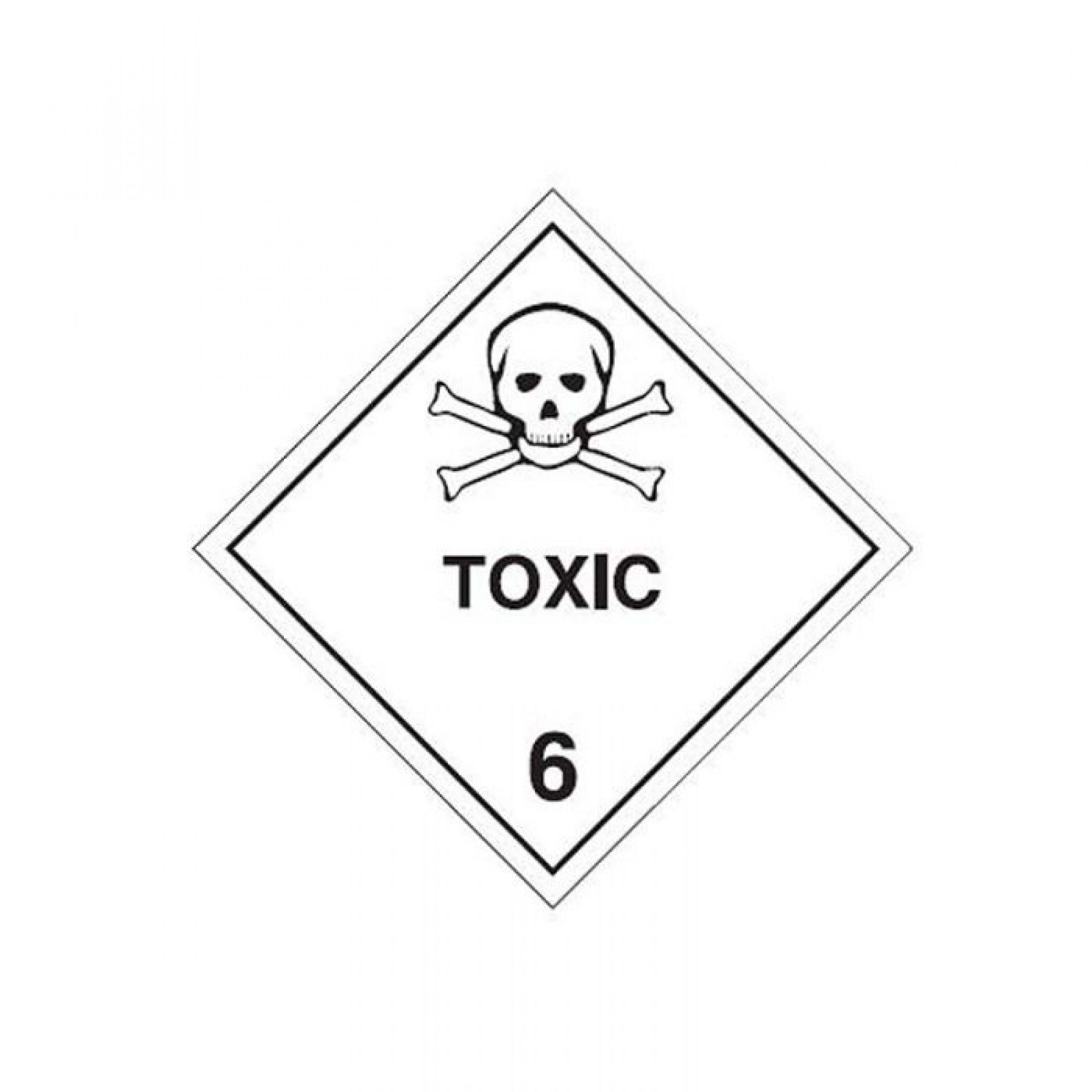 SIGN 'TOXIC 6'