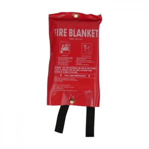 FIRE BLANKET 1.2 X 1.2M WITH SOFT COVER