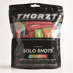 THORZT SOLO SHOT 3G SUGAR FREE, 5 FRUITS