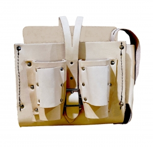 POUCH LEATHER BLONDE NORTHERN LIGHTS G2
